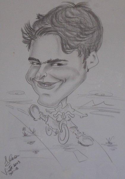 Mio ritratto con la bici - Vieste '03