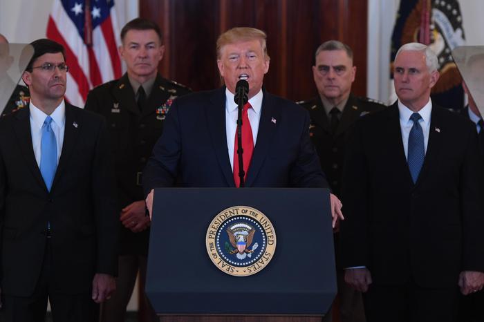 Trump, Soleimani era il maggiore terrorista al mondo