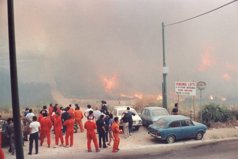 The Curraggia fire (1983)